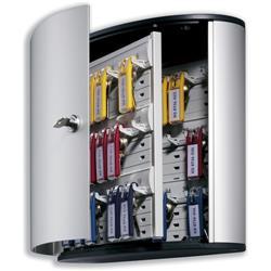 Durable Key Box 36 Key Capacity Silver Ref 1952-23