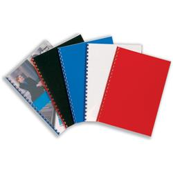 GBC PolyClearView Binding Covers Polypropylene 300 micron Frosted Ref IB386848 (100 Pack)