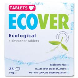 Ecover Dishwasher Tablets Environmentally-friendly Ref VEVDT - Pack 25