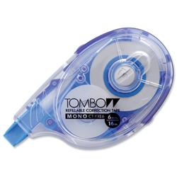 Tombow Correction Tape Refill 4mm Ref CT-YRE4