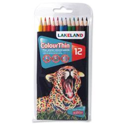 Lakeland Colourthin Pencils Assorted Ref 0700077 - Pack 12