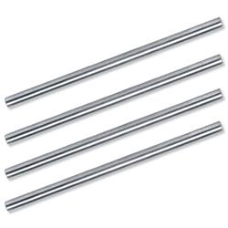 5 Star Office Risers for Letter Tray with Clearance 53mm Steel [Pack 4]