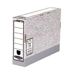 Fellowes Bankers Box Transfer File 80mm Ref 1180001 [Pack 10]