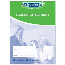 Wallace Cameron A5 Accident Report Book Ref 5401009