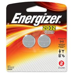 Energizer CR2032 Lithium Battery for Small Electronics 5004LC 240mAh 3V Ref 628747 - Pack 2