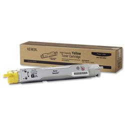 Xerox Phaser 6300 High Capacity Yellow Laser Toner Cartridge Ref 106R01084