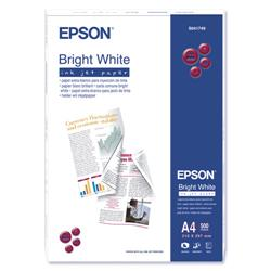 Epson A4 Bright White Inkjet Paper Recycled Ref C13S041749 - 500 Sheets
