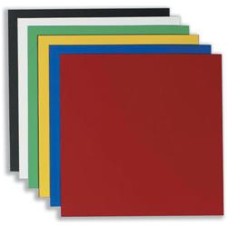 Nobo Magnetic Squares Vinyl 150x150mm Assorted  Ref 1901104 - Pack 6