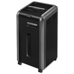 Fellowes 225Mi Shared Workspace Shredder Micro Shred DIN4 P-5 Ref 4620201