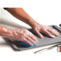 Polyco Digit PE Gloves Powder-free Polythene Textured Surface Ref PE100 - Pack 100
