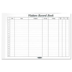 Concord CD14P White 50 Sheet Refill for Visitors Book Ref 85801CD/14P