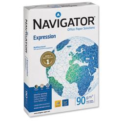 Navigator Expression A4 Inkjet Paper Extra Smooth Ream-Wrapped 90gsm White Ref NEX0900024 - 1 Ream