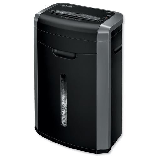 Buy fellowes 72ct deskside shredder confetti cut din3 p 4 for Best home office shredder uk