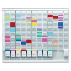 Nobo Maxi T-Card Kit 32 Slot 12x Size 2 Panels 1x Index Panel plus Cards Links and Inserts Ref 32938864