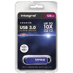 Integral Courier Flash Drive USB 3.0 128GB Ref INFD128GBCOU3.0