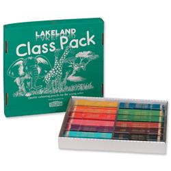 Lakeland Colouring Pencils Class Pack 30 Each of 12 Colours Ref 33329 30x12