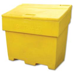 Bentley Grit and Salt Bin Polyethylene Capacity 300kg 285 Litres Weight 22kg Ref SPC/GRIT400