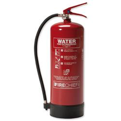 IVG Firechief Fire Extinguisher Water for Class A 9 Litres Ref IVGS9.0LTW