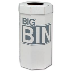 Acorn Big Bin Flat Packed Recycled Board Material 160 Litres Ref 142958 [Pack 5]