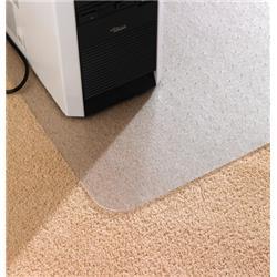 Cleartex Advantagemat Antibacterial Chair Mat For Carpet 1200x900mm Clear Ref FCAB119026EV