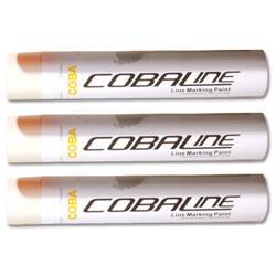 Cobaline Marking Spray CFC-free Fast-dry 750ml White Ref QLL00013P - Pack 6