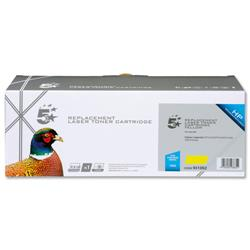 Image of 125A Yellow Compatible Toner Cartridge - 931062