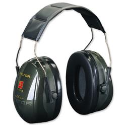 3M Peltor Ear Muffs High Comfort Seal 31dB Noise Reduction Ref Optime II