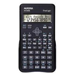 Aurora AX-582BL Calculator Scientific Black Ref AX-582BL