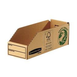 Bankers Box by Fellowes Parts Bin Corrugated Fibreboard Packed Flat W98xD280xH102mm Ref 07353 - Pack 50