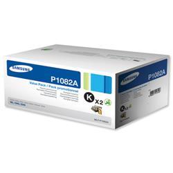 Samsung Laser Toner Cartridge Page Life 3000pp Black Ref MLT-P1082A/ELS - Pack 2
