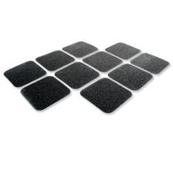 COBA Grip Foot Tape Tile Anti-slip Grit Surface Hard-wearing W140xD140mm Black Ref GF010005 - Pack 10