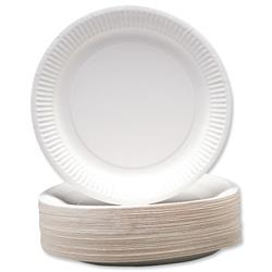 Paper Plates Disposable 230mm - Pack 100