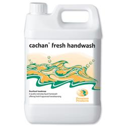 Cachan Fresh Handwash Lemon & Ginger Fragrance 5 Litre Ref 08264