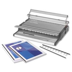 GBC SureBind 500 Office Strip Binding Machine Manual Binds up to 500 Sheets Punches up to 25 Sheets A4 Ref 4400400