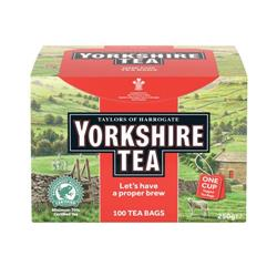 Yorkshire Tea Naked String and Tag Ref A07698 - Pack 100