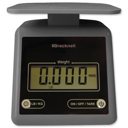 Salter PS-7 Compact Postal Scale Grey Ref 816965005222