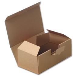 Easi Mailer Kraft Mailing Box W190xD131xH76mm Brown [Pack 20]