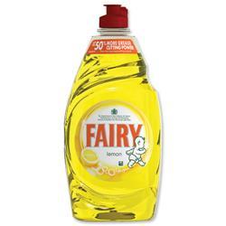 Fairy Liquid for Washing-up Lemon 433ml Ref 96775 [Pack 2]