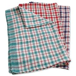 Tea Towels Chequered Ref SPC/TT01/10 - Pack 10