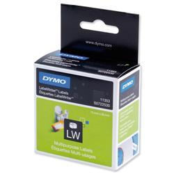 Dymo LabelWriter Labels MultipurposeWhite Ref 11353 S0722530 (Pack 1000)
