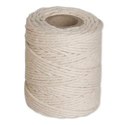 String Cotton Thin 125g 156m White - Pack 12