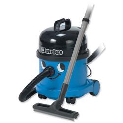Numatic Charles Wet and Dry Vacuum Cleaner 1200W 15L Dry 9L Wet 7.1Kg