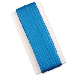 5 Star Office Legal Tape Braids Silk Suitable for Wills 6mm x 50m Blue