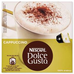 Nescafe Cappuccino for Nescafe Dolce Gusto Machine Ref 12019905 - Packed 48