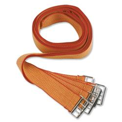 Deed Straps with Buckle to Secure Bulky Documents 33x900mm Ref strapssp/red/y36 - Pack 6