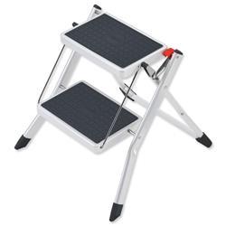 5 Star Facilities Mini Stool Two Step Steel