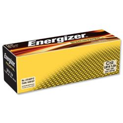 Energizer Industrial Long Life C Battery LR14 Ref 636107 - Pack 12
