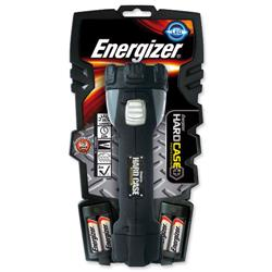 Energizer Hardcase Pro 4AA Super Bright 4 LED Weatherproof Torch Ref 630060