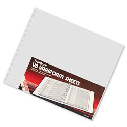 Twinlock V8 Variform 12 Column Cash Sheets Ref 75983 [Pack 75]