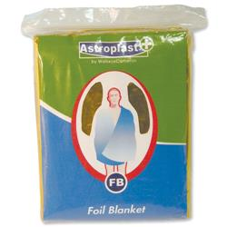 Wallace Cameron First-Aid Emergency Foil Blanket Ref 4803008 - Pack 6